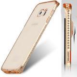 Caso ultra delgado de TPU para el iPhone/Samsung, Carcasas De Telefono