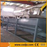 Baixo consumo de água Linha de lavagem de resíduos PP PE