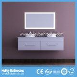 2개의 LED 접촉 스위치 높은 광택 페인트 두 배 수채 목욕탕은 놓았다 (BF129D)