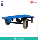 2015 heißes Four Wheel Flatbed Semi Trailers auf Promotion