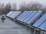 Capteur solaire de caloduc pour des projets importants