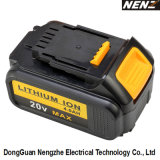 Wireless professionale Power Electric Tool con 20V lo Li-ione Battery (NZ80)