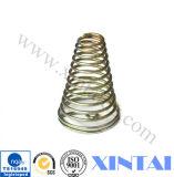 Mola de compressão espiral industrial de aço da bobina de Staniless