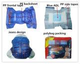 La Chine évalue des prix de couches-culottes de bébé imprimés par OEM adaptés aux besoins du client par couche-culotte jetable