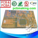 RoHS Min 3mil Trace Drill PCB、PthおよびNpth、導自由なHal