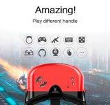 Kundenspezifischer Gläser Google PappeVr Kasten des Firmenzeichen-3D Vr mit Andorid 5.1 Kasten 1280*720p des Vierradantriebwagen-1+8GB des Kern-Rk3126 Vr