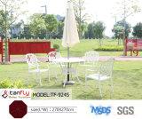 Grande ombrello di alluminio del giardino del diametro Metà di-Palo di pagina 2.7m