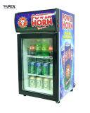 mini refrigerador 50liter superior contrário com a prateleira 2 para a loja da cerveja na loja da barra