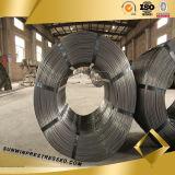 1860 MPa de alta elasticidade 4 milímetros Spiral PC fio de aço de concreto