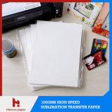 Бумага переноса сублимации 100GSM размера листа A4/A3 Anti-Curl для печатание перехода