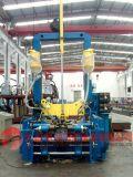 Máquina de montagem, soldagem e endireitamento de H-Beam