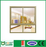 Solo vidrio Tempered Windows francés de aluminio Pnoc0026slw