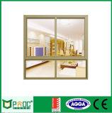 Único vidro Tempered Windows francês de alumínio Pnoc0026slw