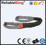 Dehnbare Polyester Schwer-Aufgabe Eye zu Eye Round Webbing Lifting Sling/Lifting Belt