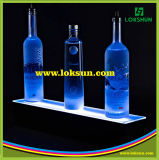 Hot Sale Desk Top Acrylique LED Stand d'affichage LED Wine Holder