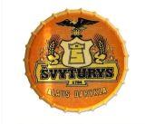 Encargo al por mayor en relieve Carteles de chapa de casquillo de la cerveza de la botella para la decoración casera