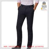 Pantalones ocasionales del tipo de tela de algodón de los mejores hombres de la venta de la alta manera