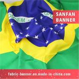 Haltbares Gewebe, das Fahne für Carrefour Company bekanntmacht