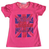 Form Children Girl T-Shirt in Kids Wear Sgt-068