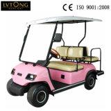 Champagner 4 Passagiere Elektrischer Golfwagen