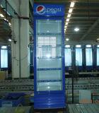 400liter高品質の縦の表示クーラーの直立したShowaseの清涼飲料のクーラー