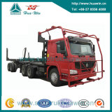 Sinotruk HOWO 371HP 6X4のログのトラック