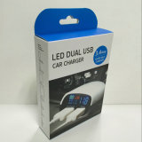 Cargador vendedor caliente del coche del USB 3.4A 2 con la visualización de LED