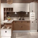 木製のメラミンMDFの台所食器棚(ZH-K21)