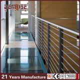Barandilla del metal de los sistemas de la barandilla de Rod del acero inoxidable (DMS-B2250)