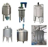 Réservoir de mélange de cône de réservoir d'acier inoxydable de 150 gallons premier