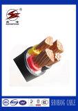 Belüftung-Kupfer/elektrisches/Rubber/XLPE 4 Kern Isolierenergien-Kabel