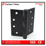 Steel di acciaio inossidabile Black Ball Bearing Hinge per Wooden/Steel Door (07-2B10)