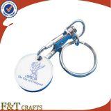カスタマイズされたロゴの熱い販売の金属Keychains