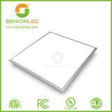 Iluminación redonda/del cuadrado los 60cm de la UL SMD 2835 LED del panel