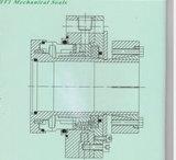 Selo mecânico não padronizado da bomba da cola para a água de esgoto (HT1)