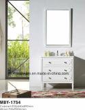 Vanité de Cabinet en bois plein de 40 de pouce vanité de salle de bains