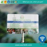 Smart card plástico do PVC Em4100 RFID do Lf 125kHz para a sociedade