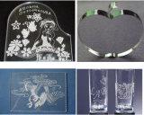 12mm Acrylplexiglas, das Fertigkeiten CO2 Laser-Ausschnitt-Maschine bekanntmacht