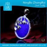 Monili Serie di bambù Pendant 4 del Lazuli di Lapis dell'argento sterlina 925