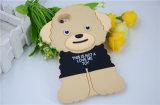 3D Leuke Geval van de Telefoon van de Cel van het Silicone van de Hond Teddy voor de Melkweg van Samsung J5 J7 J710 J510 (xsdw-035)