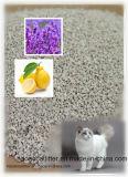 1-2mm Bentonit-unregelmäßige Katze-Sänfte