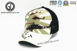 Modo Breathable Baseball Sport Mesh Hat Trucker Cap con 3D Embroidery Pattern Cartoon