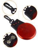 Luz de advertência do animal de estimação do farol intermitente da trela do colar de cão do diodo emissor de luz com gancho