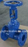 Le fer de moulage/fer malléable DIN3202 F5 a bridé soupape à vanne