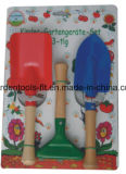 Ferramentas de jardim da mão com punho plástico