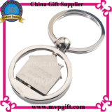 Corrente chave do metal com logotipo da impressão do cliente