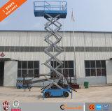 levages hydrauliques de ciseaux de levage électrique mobile de ciseaux de hauteur de levage de 12m
