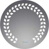 Specchio di alluminio d'argento del LED, specchi dell'indicatore luminoso della stanza da bagno di trucco