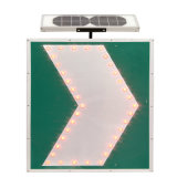 El tráfico Solar LED tarjeta de la muestra de límite de velocidad y la señal de peligro