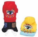 Tissu fait sur commande de crabot de l'hiver, vêtement de roquet d'accessoires d'animal familier de créateur de vêtements